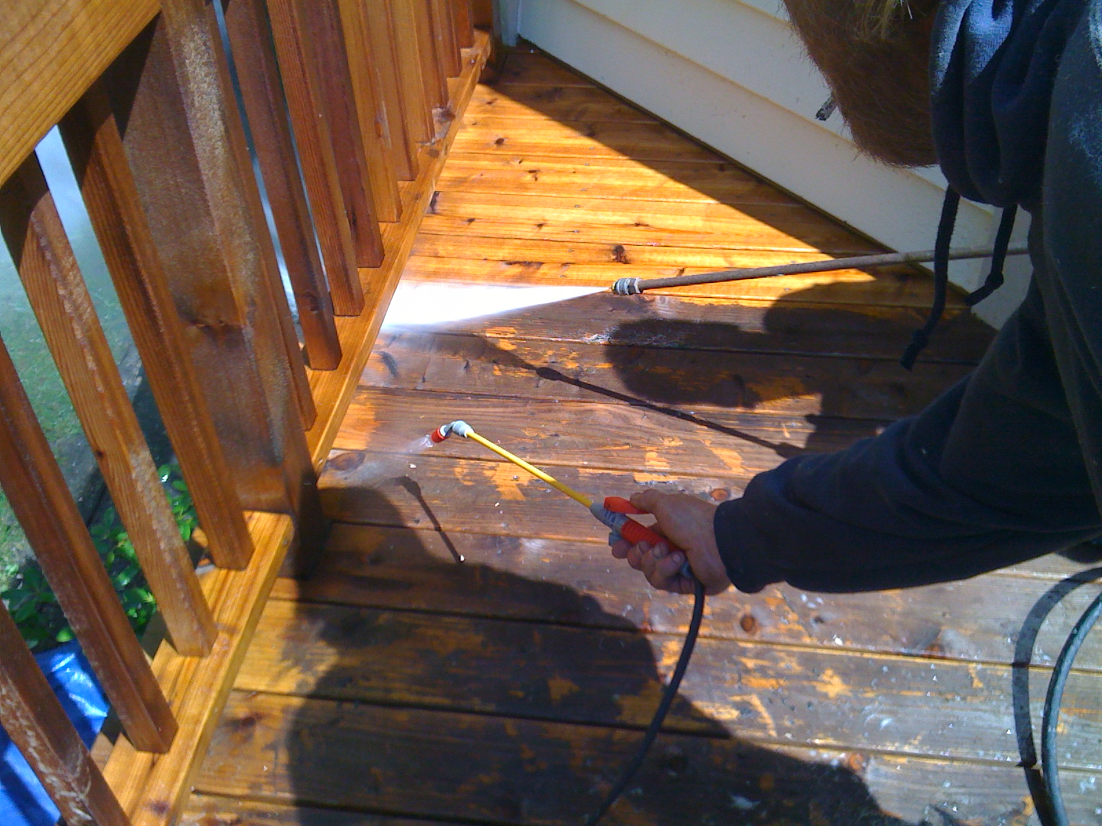 Deck Cleaning Chicago
