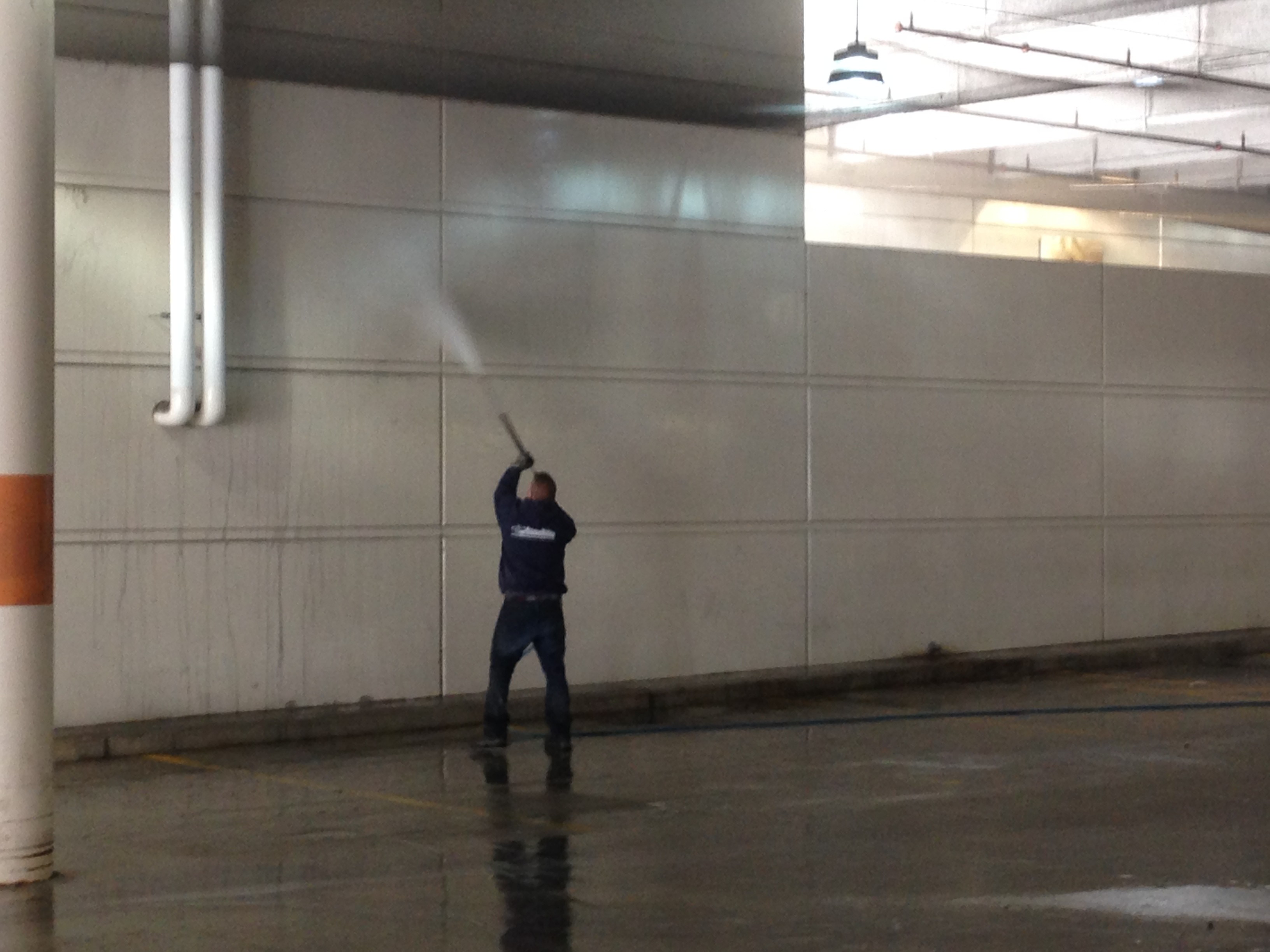 Warehouse Pressure Washing Chicago