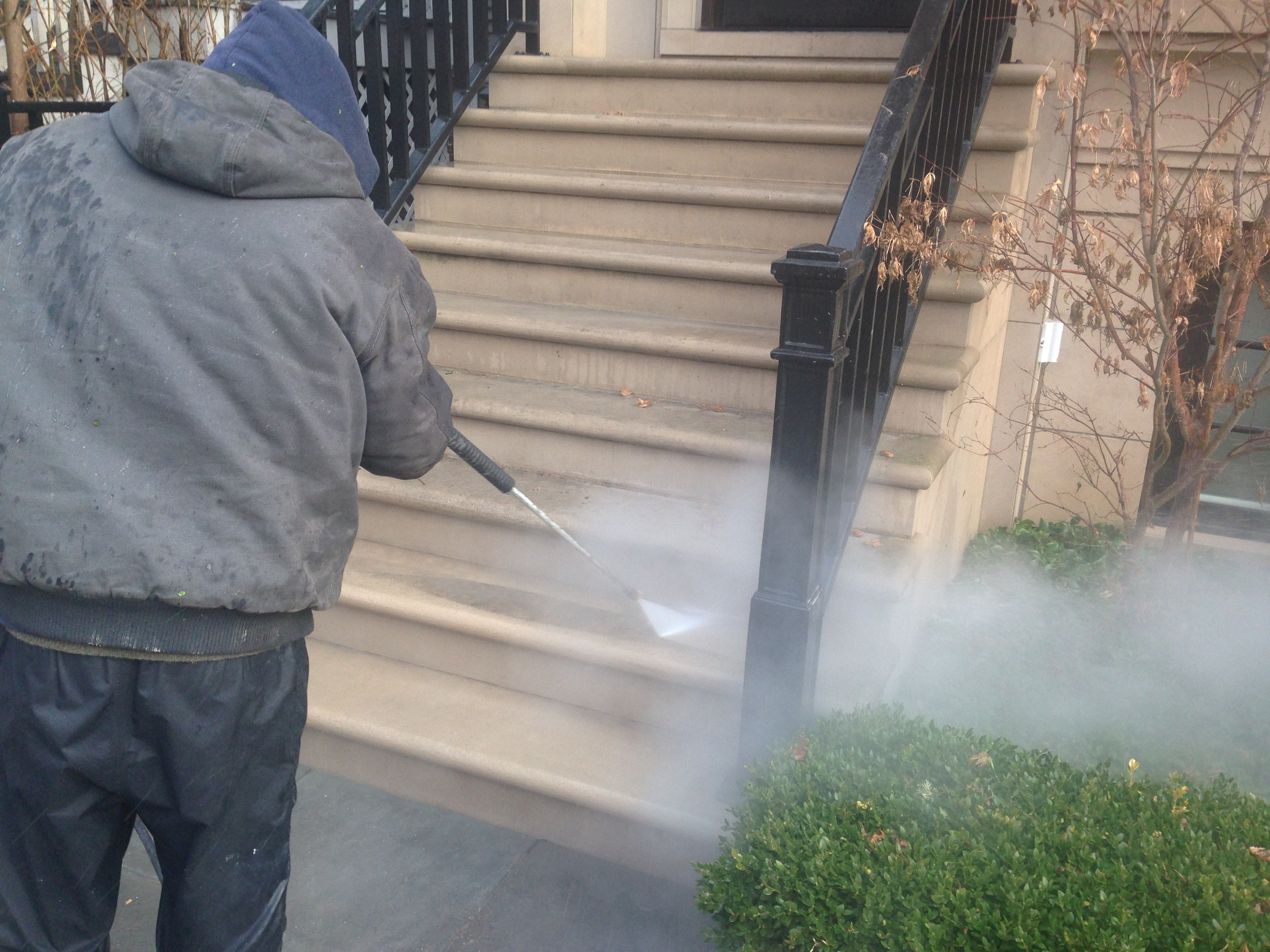 Limestone Cleaning Chicago